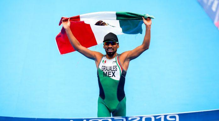 Crisanto Grajales gana el oro en el triatlón de los Juegos Panamericanos Lima 2019