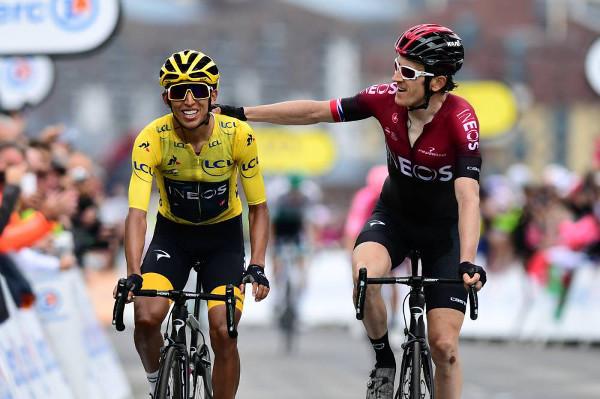 Egan Bernal y Geraint Thomas - Tour de Francia 2019