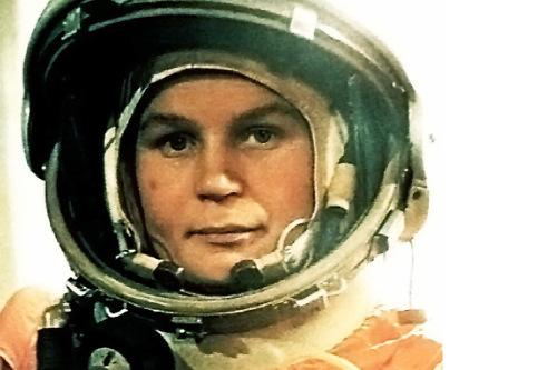 Valentina Tereshkova, primera mujer en el espacio