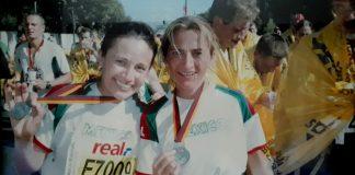 Ana y Monica Plasencia - Maratón de Berlín 2006