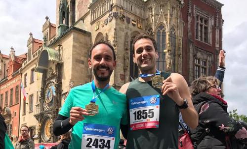 Finalistas Maratón de Praga