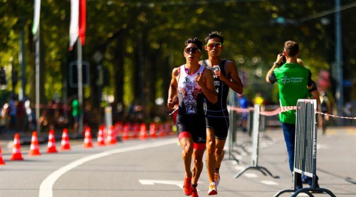 Diego López - Campeonato Mundial del Triatlón Lausanne 2019