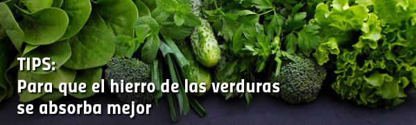 Verduras verde oscuro