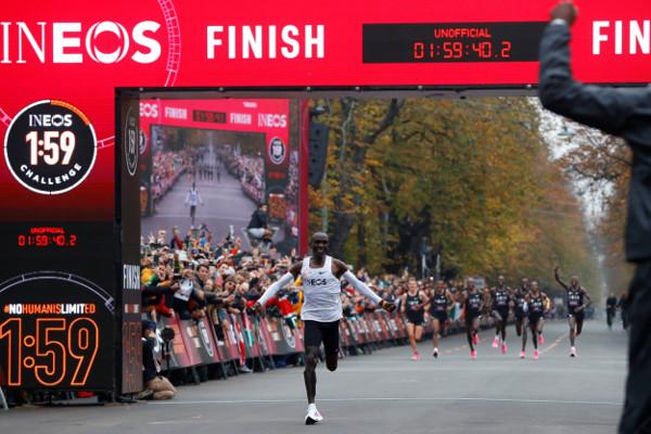 Eliud Kipchoge Ineos Challenge 1:59:40.2