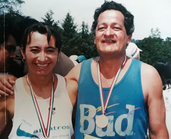 Mi papá y yo Carrera del Día del Padre 21 km