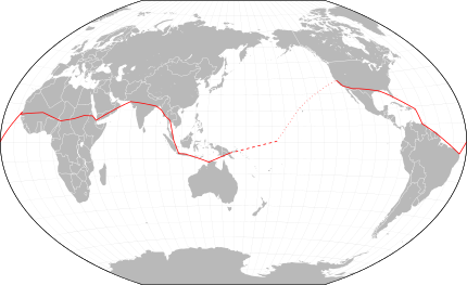 Ruta de Amelia y Fred alrededor del mundo
