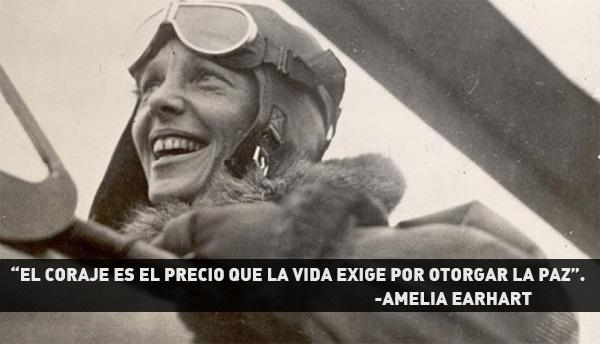 Descanse en paz Amelia Earhart