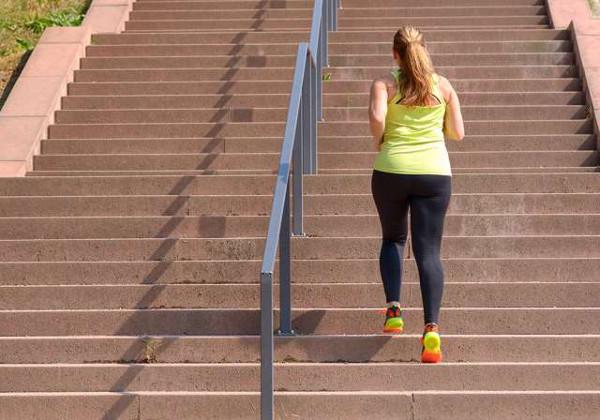 Entrena subiendo escaleras