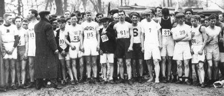 Salida primer Maratón de Boston - Abril 19, 1896