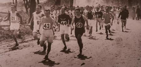 Maratón de Boston en los años 60s