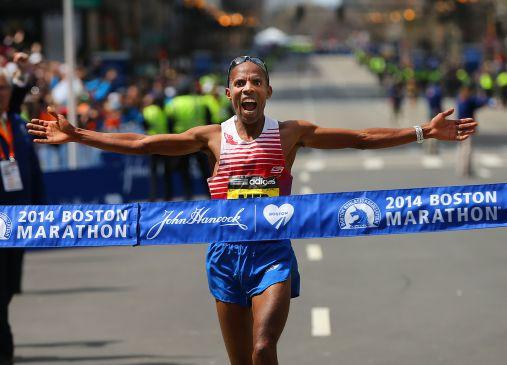 Meb Keflezighi ganó el Maratón de Boston 2014