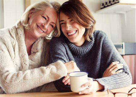 Taza de café con mamá