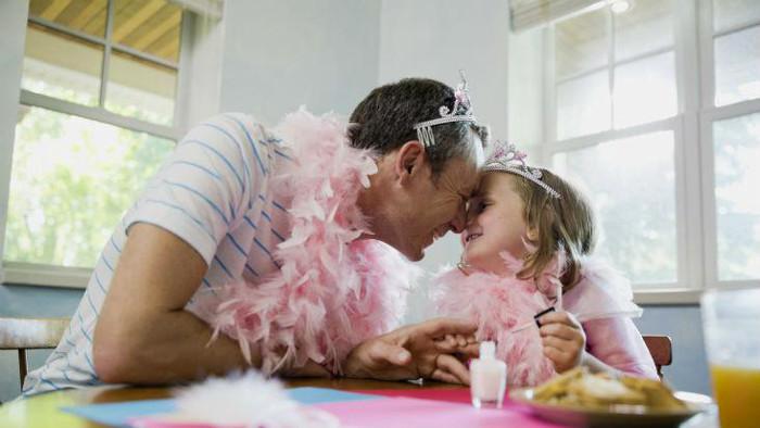 Papá y princesa