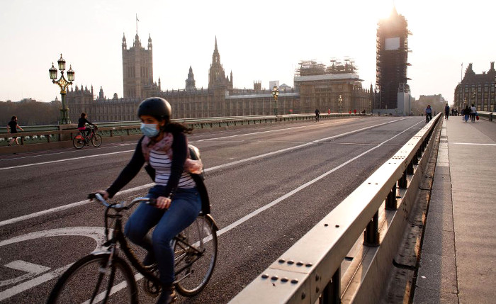 Bici en Londres