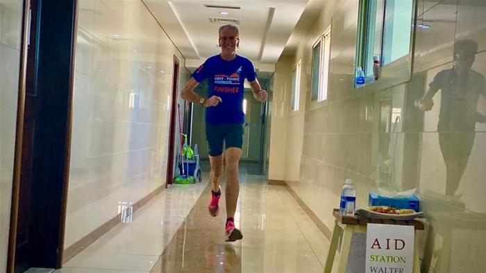 Corriendo indoor