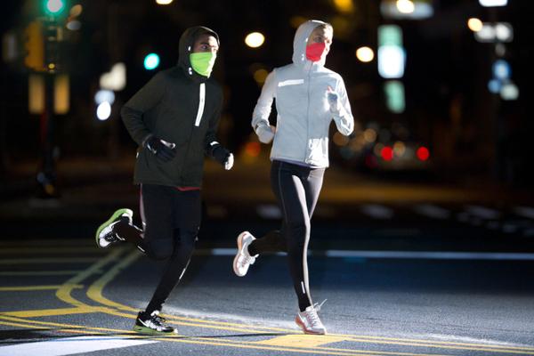 Corren en invierno
