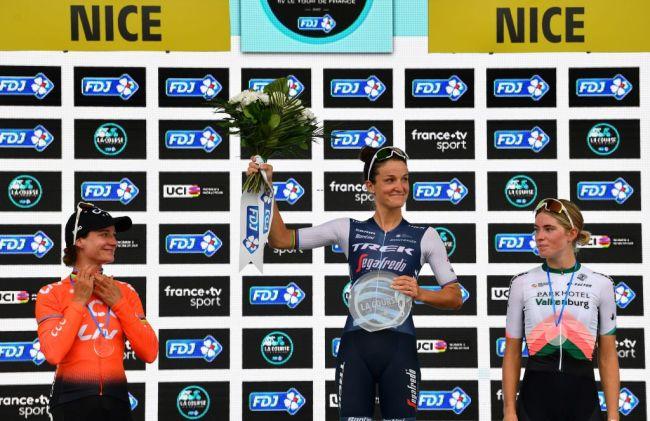 Elizabeth Deignan triunfa La Course