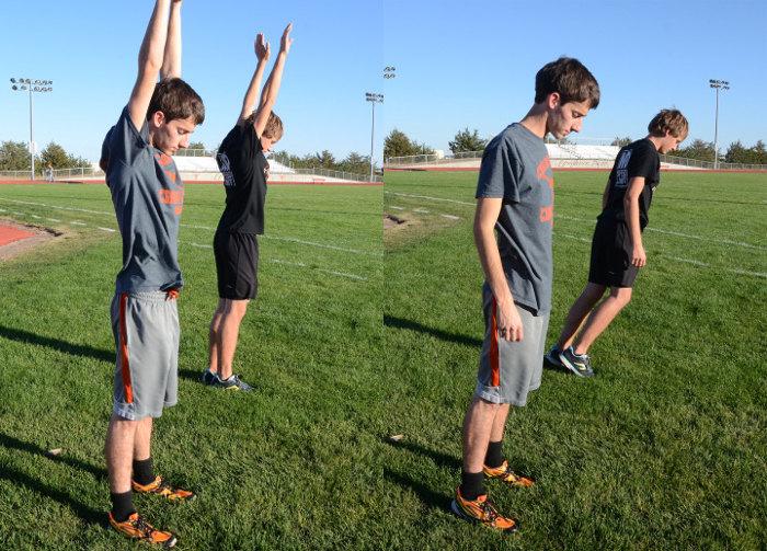 Corrección postura para correr