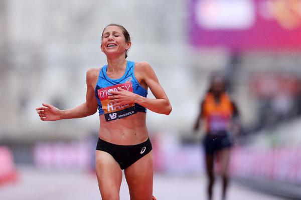 Sara Hall Maratón Londres 2020