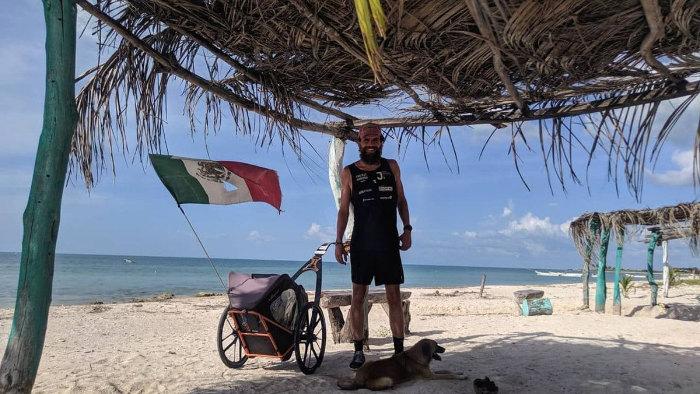 Descansando en Campeche